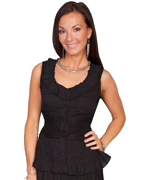 Scully Crocheted Sleeveless Top