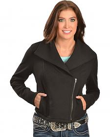 Ariat Briones Moto Black Fleece Jacket