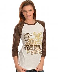 Ariat Salina Screen Print Top