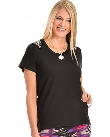 Wrangler Rock 47 Studded Black Top