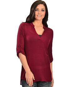 Jody of California Ruby Knit Tunic