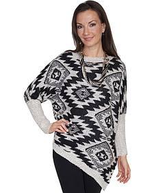 Scully Women's Asymmetrical Aztec Sweater