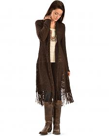 Ariat Women's Long Fringe Cardigan