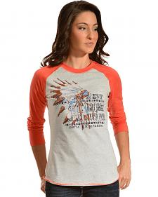 Ariat Women's Riding High Baseball Tee