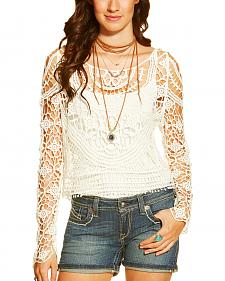 Ariat Women's Isle Cropped Sweater