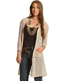Moa Moa Women's Slub 2-Pocket Duster