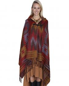 Scully Honey Creek Hooded Poncho