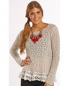 Panhandle Slim Women's Pointelle Sweater