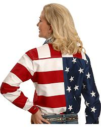Roper Flag Shirt at Sheplers