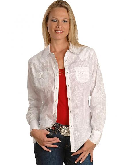 Ariat Bella Shadow Stripe Western Shirt