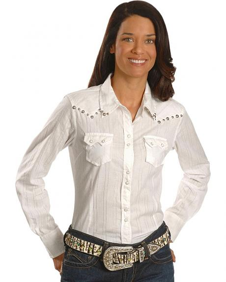 Ariat Amori Horseshoe Studded Western Top