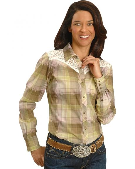 Ariat Lizzie Lace Yoke Western Shirt