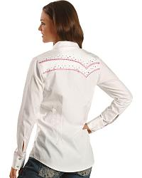 Wrangler Rock 47 Embellished Yoke Western Shirt at Sheplers
