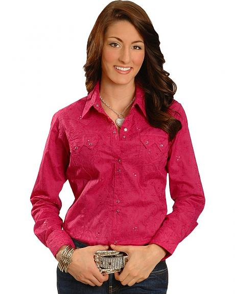 Ariat Cassie Sequin Embellished Western Shirt