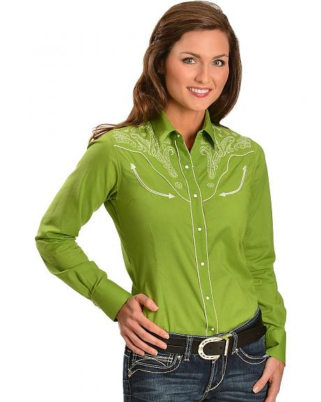 Ariat Jude Embroidered Yoke Retro Western Shirt