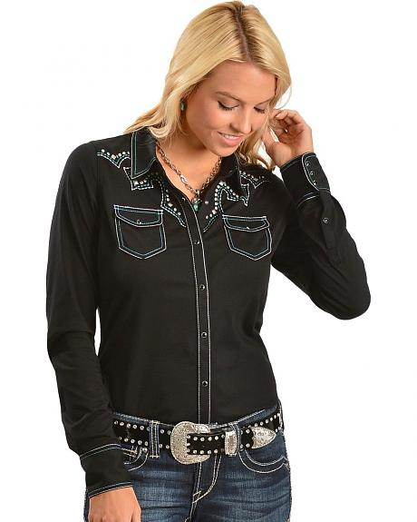 Ariat Tyler Long Sleeve Western Top