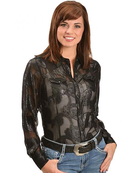 Ariat Metalie Long Sleeve Top