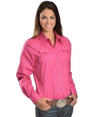 Wrangler Rhinestone Snap Western Shirt
