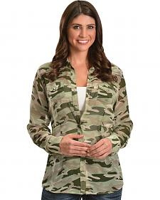 Ariat Sheer Camouflage Long Sleeve Top