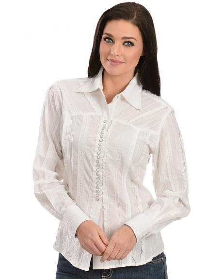 Scully Tone-on-Tone Lace Top