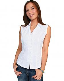 Scully Peruvian Cotton Sleeveless Top