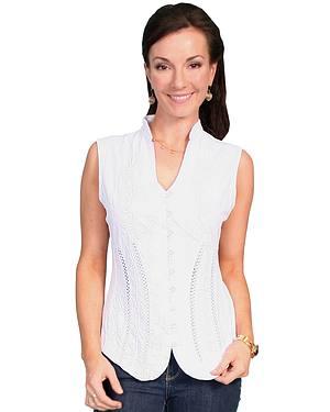 Scully Peruvian Cotton Sleeveless Top