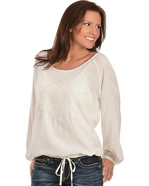 Ariat Venda Challis Embroidered Top