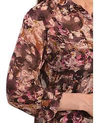 Ariat Selma Floral & Skull Print Chiffon Top at Sheplers