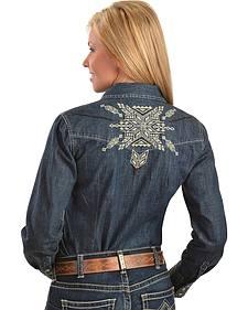 Ariat Estancia Denim Western Shirt