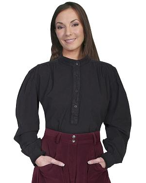 Rangewear by Scully Frontier Long Sleeve Top $56.99 AT vintagedancer.com