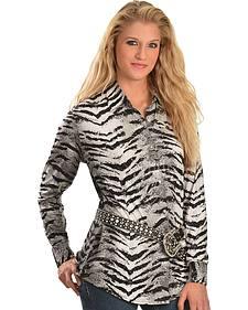 Wrangler Zebra Print Shirt