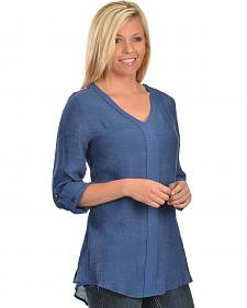 Red Ranch Blue Tunic