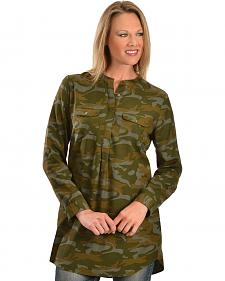 Red Ranch Green Camo Tunic