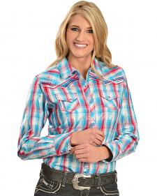 Ariat Women's Wishful Plaid Snap Shirt