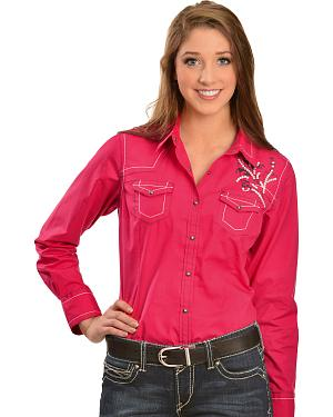 Women&-39-s Western Shirts - Ariat- Rock &amp- Roll- Roper