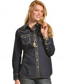 Ryan Michael Women's Triple Stitch Shirt