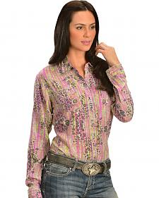 Wrangler Rock 47 Women's Multi-Animal Print Shirt