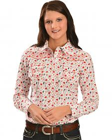 Ariat Women's Cactus Print Long Sleeve Western Shirt