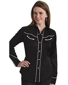 Roper Women's Americana Longhorn Western Shirt