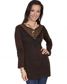 Scully Women's Embellished Lace Tunic