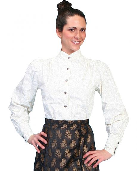 WahMaker by Scully Old West Blouse