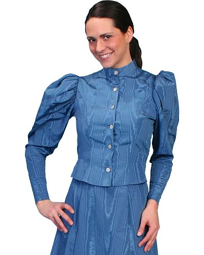 WahMaker by Scully Womens Classic Old West Blouse $88.00 AT vintagedancer.com