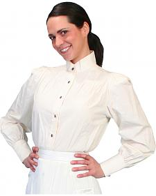 WahMaker by Scully Women's Victorian Blouse