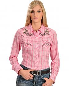 Ariat Women's Howell Plaid Snap Western Shirt
