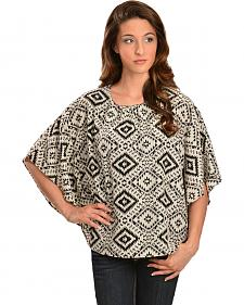 Red Ranch Women's Black & White Pebble Tunic