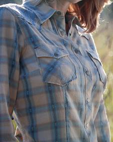 Ryan Michael Women's The Classic Western Shirt