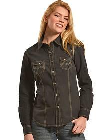 Ryan Michael Women's Hanna Linen Shirt