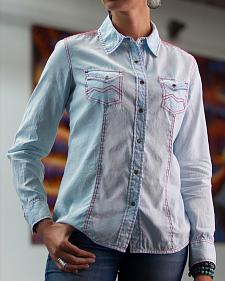 Ryan Michael Women's Hanna Linen Shirt
