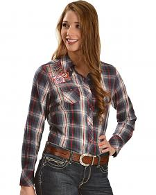 Ariat Women's Ashley Plaid Snap Western Shirt
