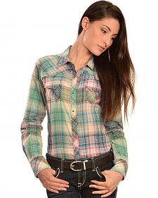 Ariat Women's Hazel Plaid Snap Western Shirt